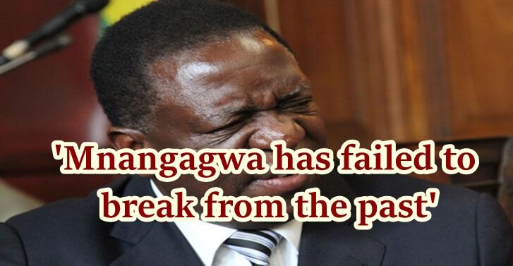 Mnangagwa has failed to break from the past