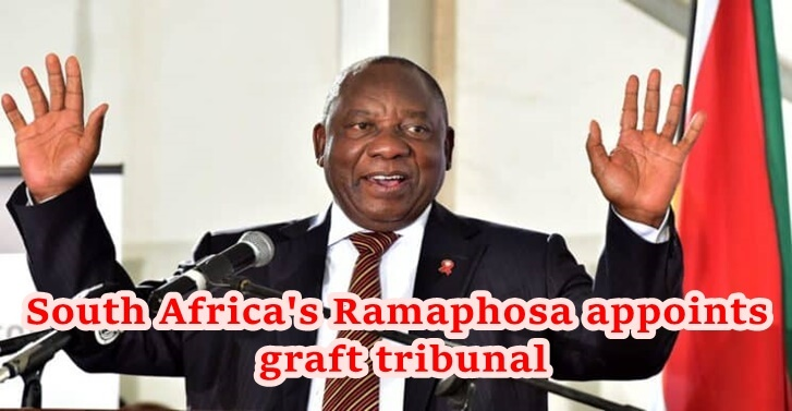 South Africas Ramaphosa appoints graft tribunal