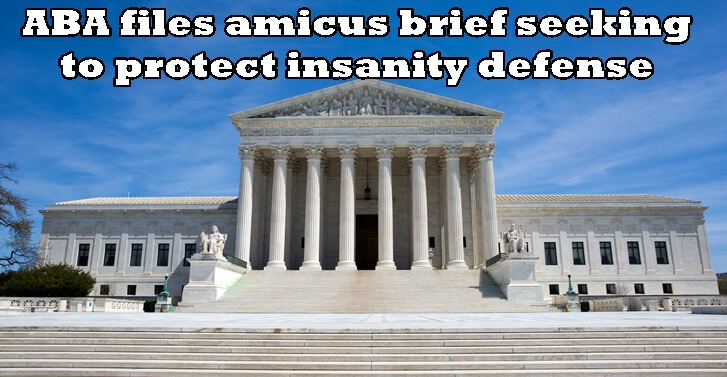 ABA files amicus brief seeking to protect insanity defense