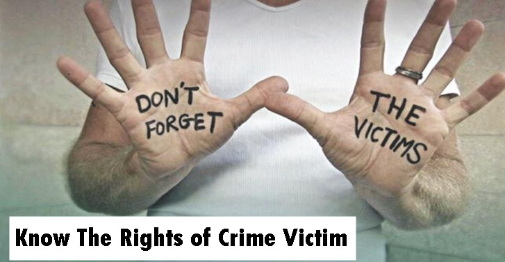 Know The Rights of�Crime Victim