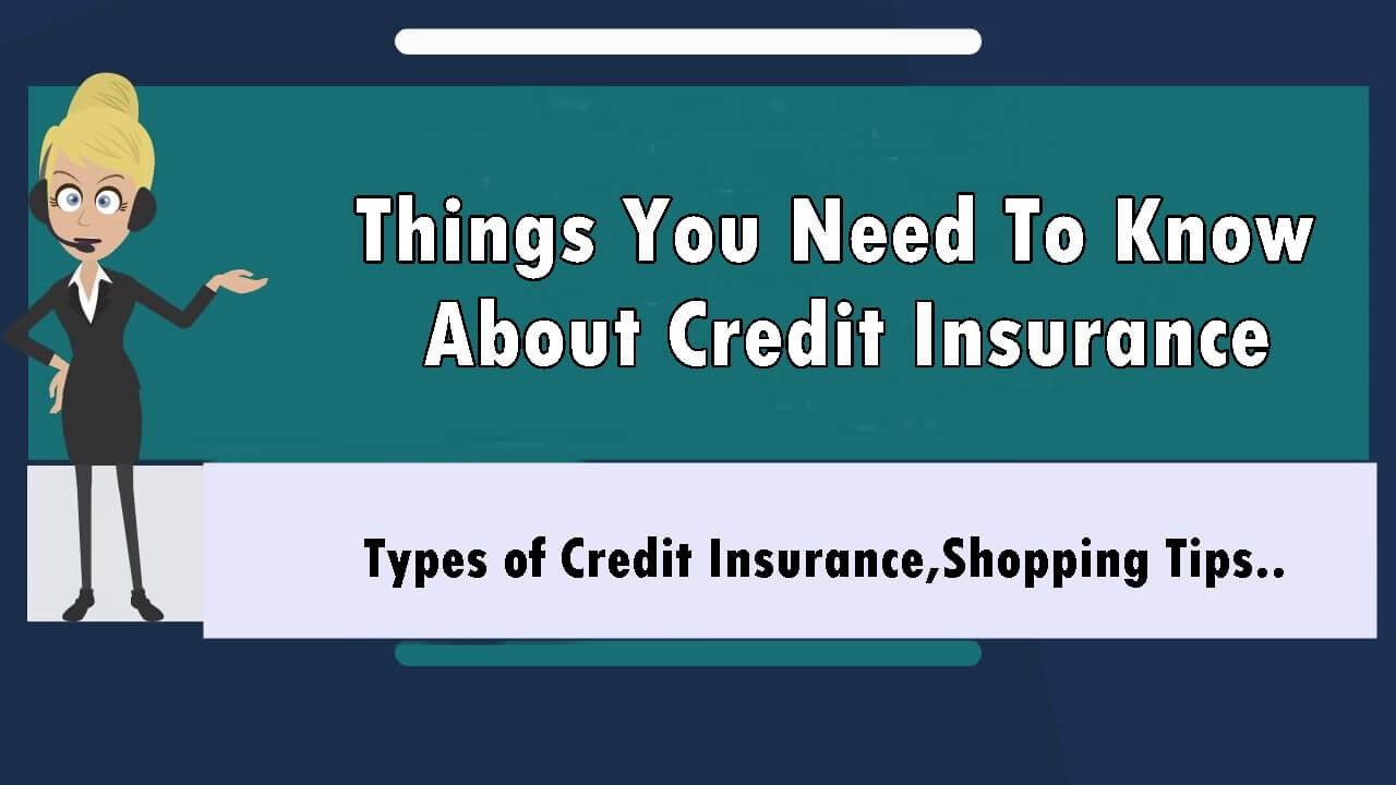 Things You Need To Know About Credit Insurance