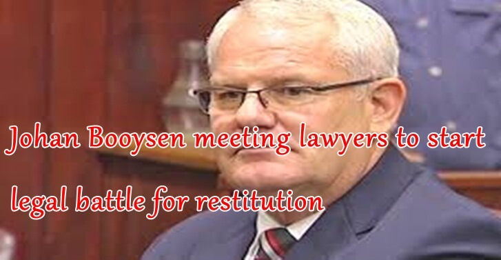 Johan Booysen meeting lawyers to start legal battle for restitution