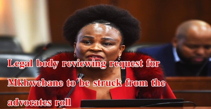 Legal body reviewing request for Mkhwebane to be struck from the advocates roll