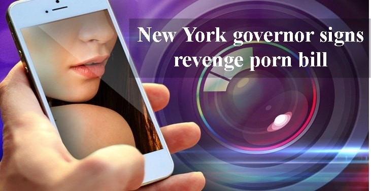 New York governor signs revenge porn bill