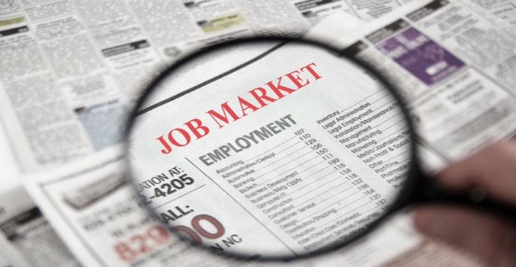 Jobs in legal services sector increase for third straight month