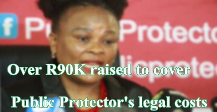 Over R90K raised to cover Public Protector's legal costs