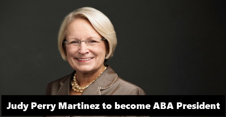 Judy Perry Martinez to become ABA President