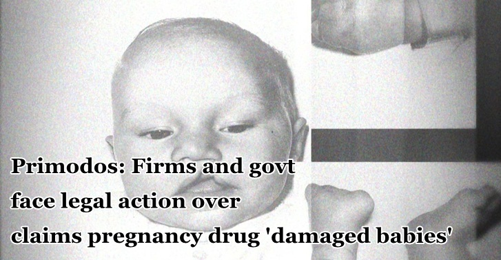 Firms and govt face legal action over claims pregnancy drug 'damaged babies'