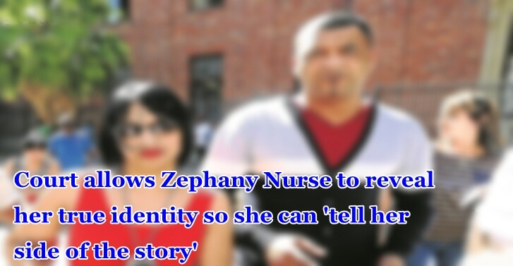 Court allows Zephany Nurse to reveal her true identity so she can 'tell her side of the story'