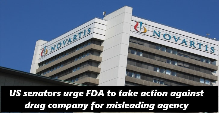US senators urge FDA to take action against drug company for misleading agency