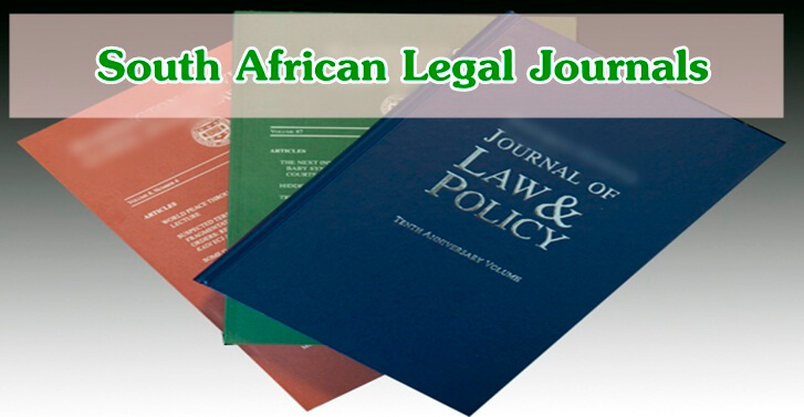 South African Legal Journals