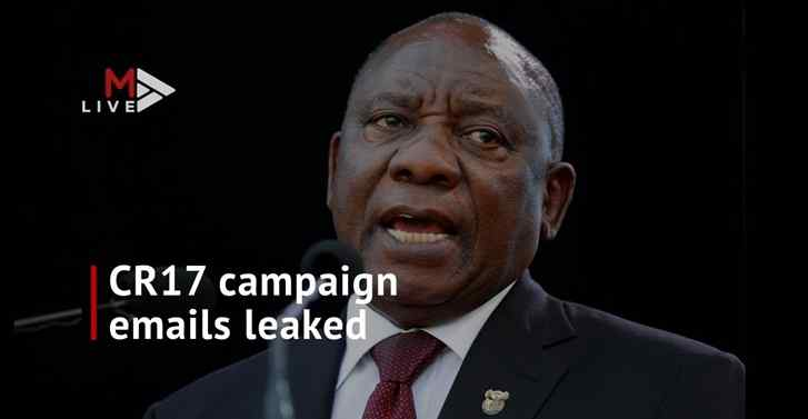Information Regulator: CR17 campaign leaks