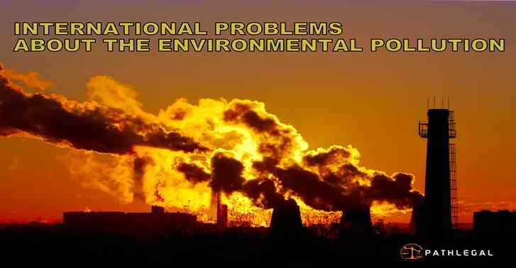 INTERNATIONAL PROBLEMS ABOUT THE ENVIRONMENTAL POLLUTION