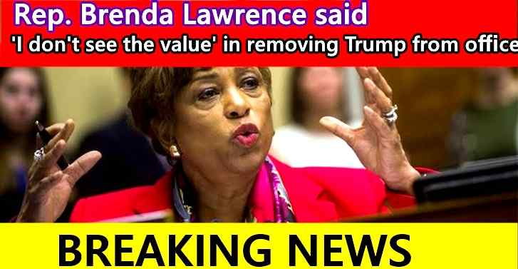 'I don't see the value' in removing Trump from office,Michigan Democratic Rep. Brenda Lawrence said