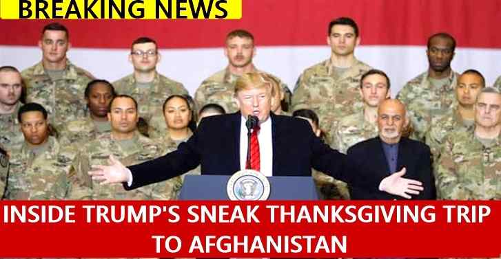 Inside Trump's sneak Thanksgiving trip to Afghanistan