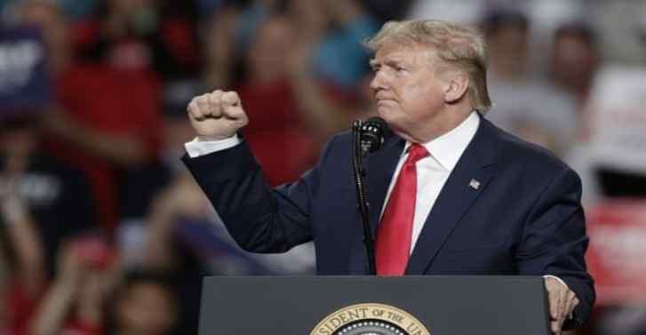 Killing Iran general delivered 'American justice', Trump tells rally