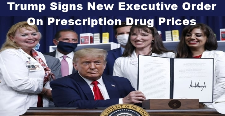 Trump Signs New Executive Order On Prescription Drug Prices