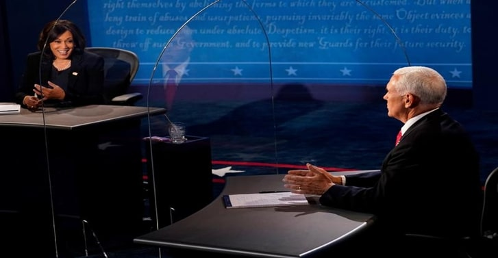 Judges, fracking and a fly: Six takeaways from the U.S. vice presidential debate