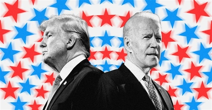 Trump leads in Florida and other vital battlegrounds, Biden pins hopes on 'blue wall'